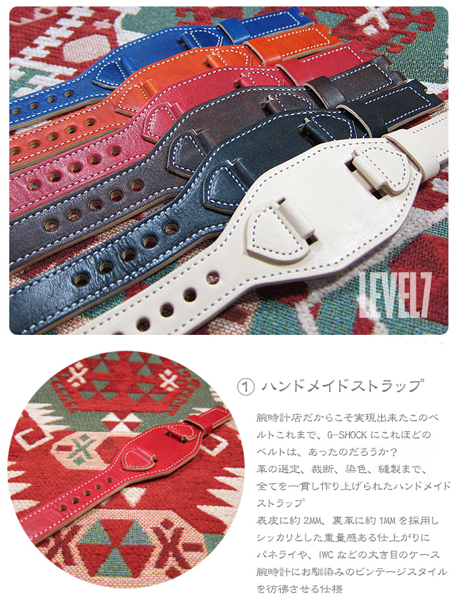 LEVEL7/レベルセブン iphone6/iphone6sケース/アイフォン6/6S 手帳型ケース 日本製/MADE IN JAPAN ハンドメイド ブラウン